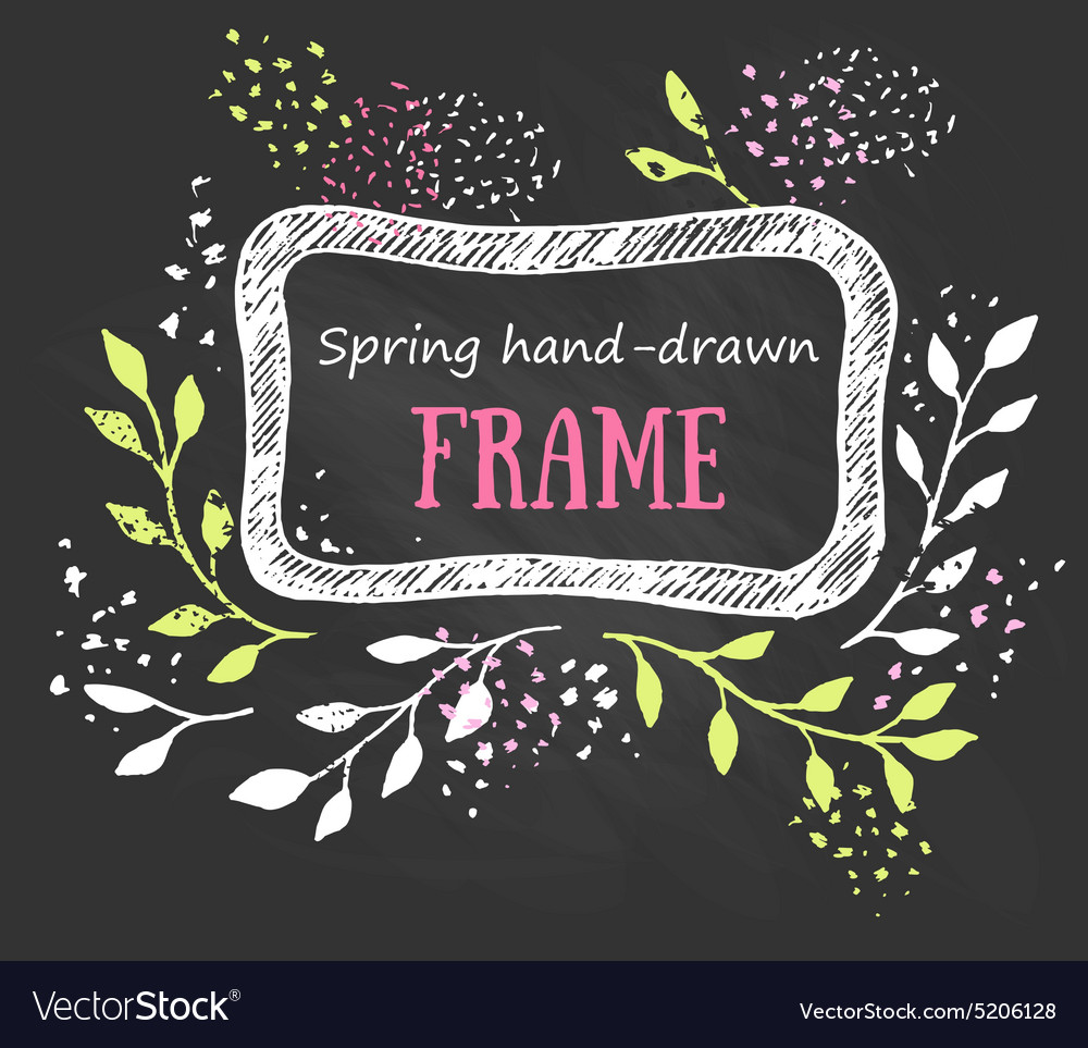 Creative artistic background spring invitation vector image stopboris Choice Image