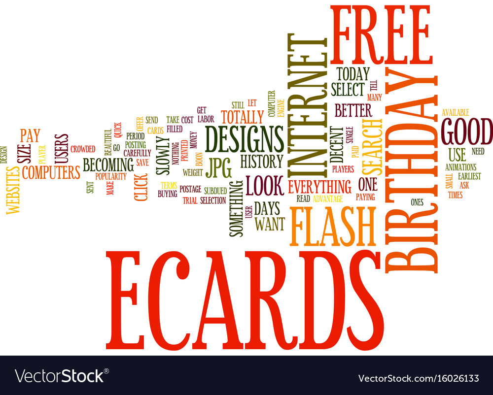 Free birthday ecards how to search text