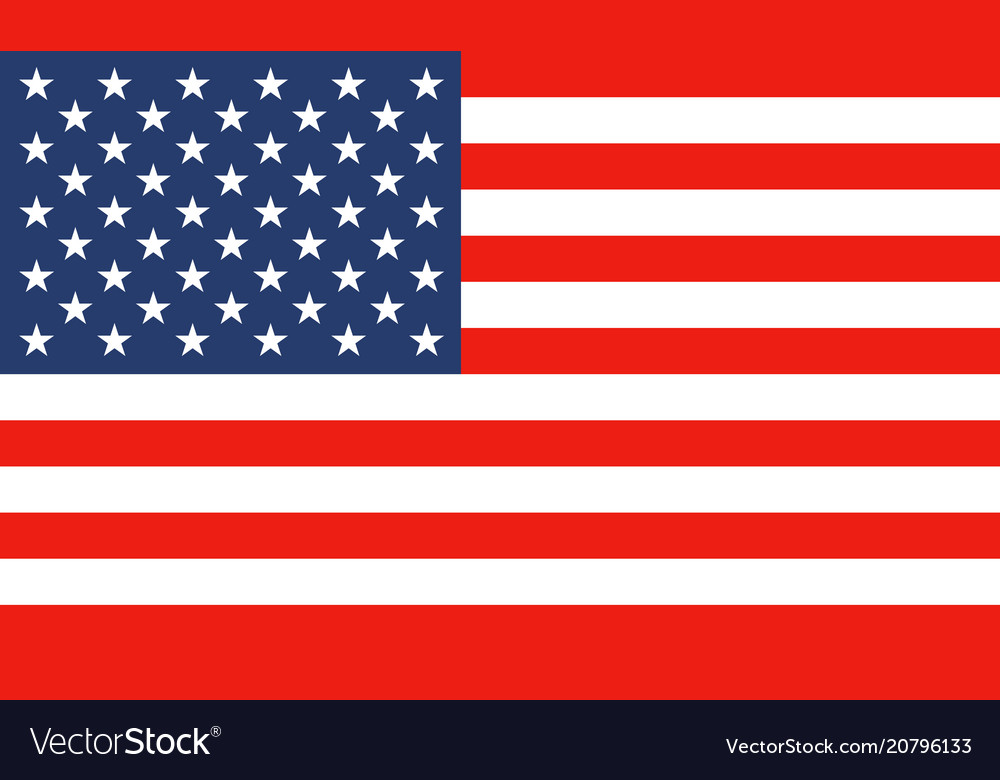 National flag of united states of america