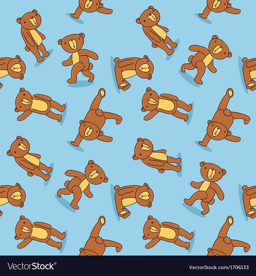 Toy bear pattern