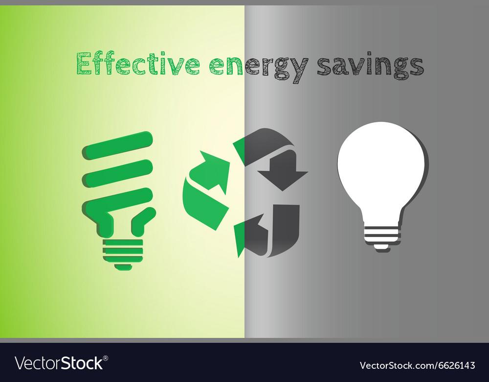 Light bulbs royalty free vector image vectorstock