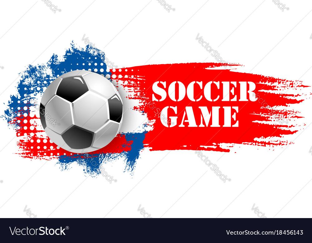 Soccer game team club football ball icon