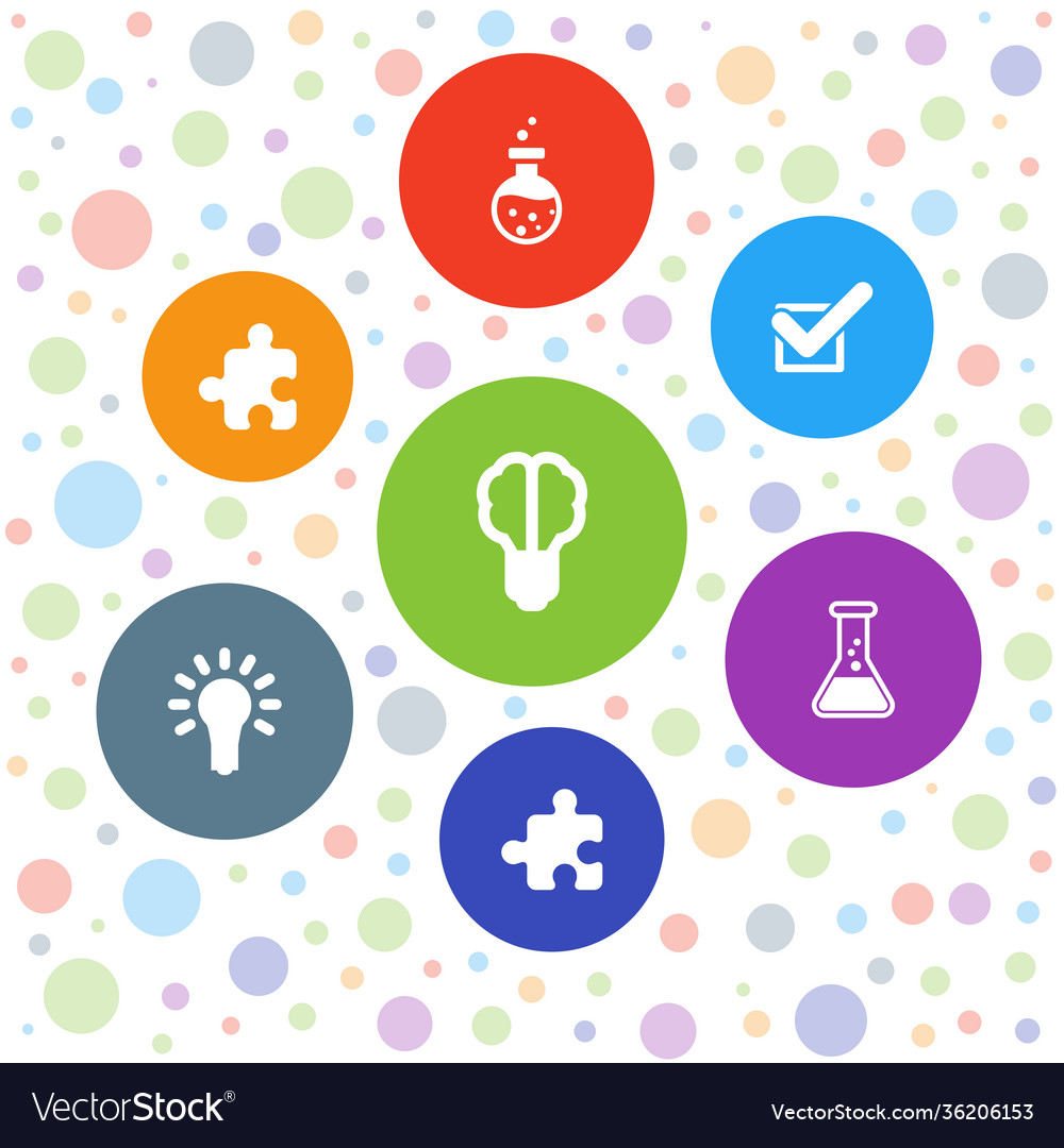 7 solution icons