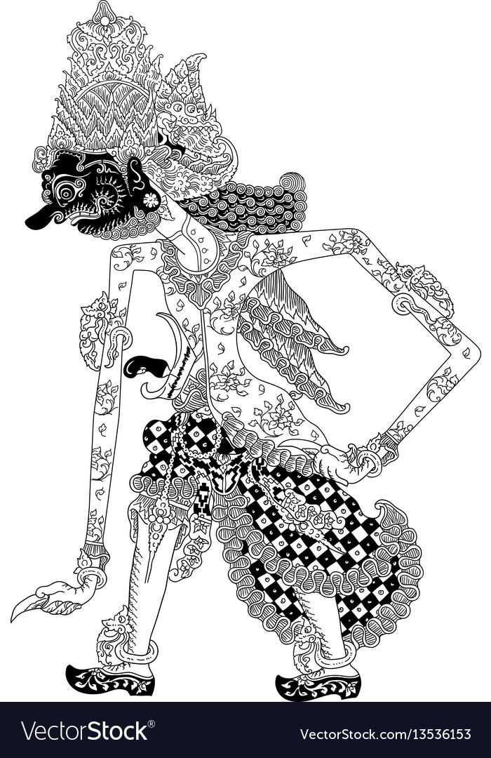 batara bayu royalty free vector image vectorstock