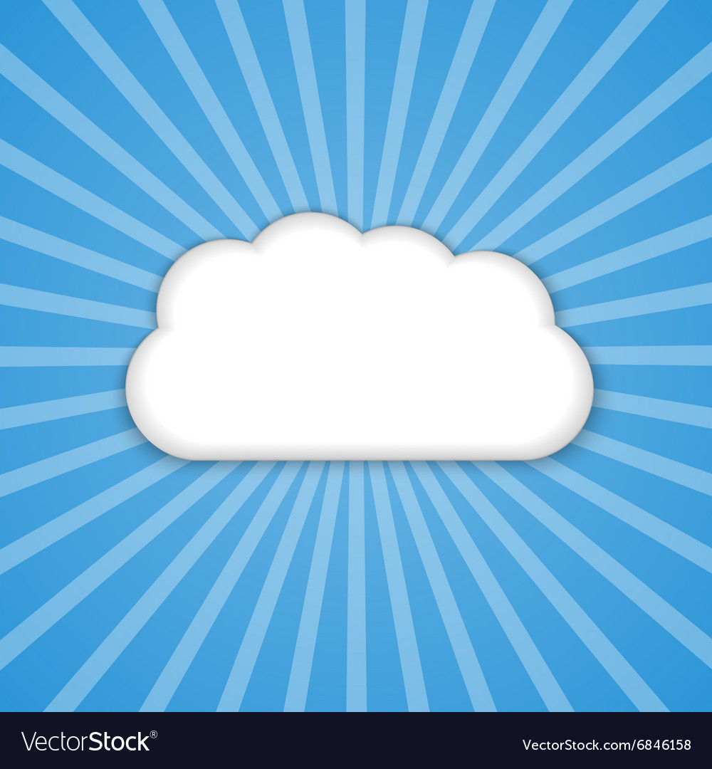 Abstract background cloud in the blue sky with sun