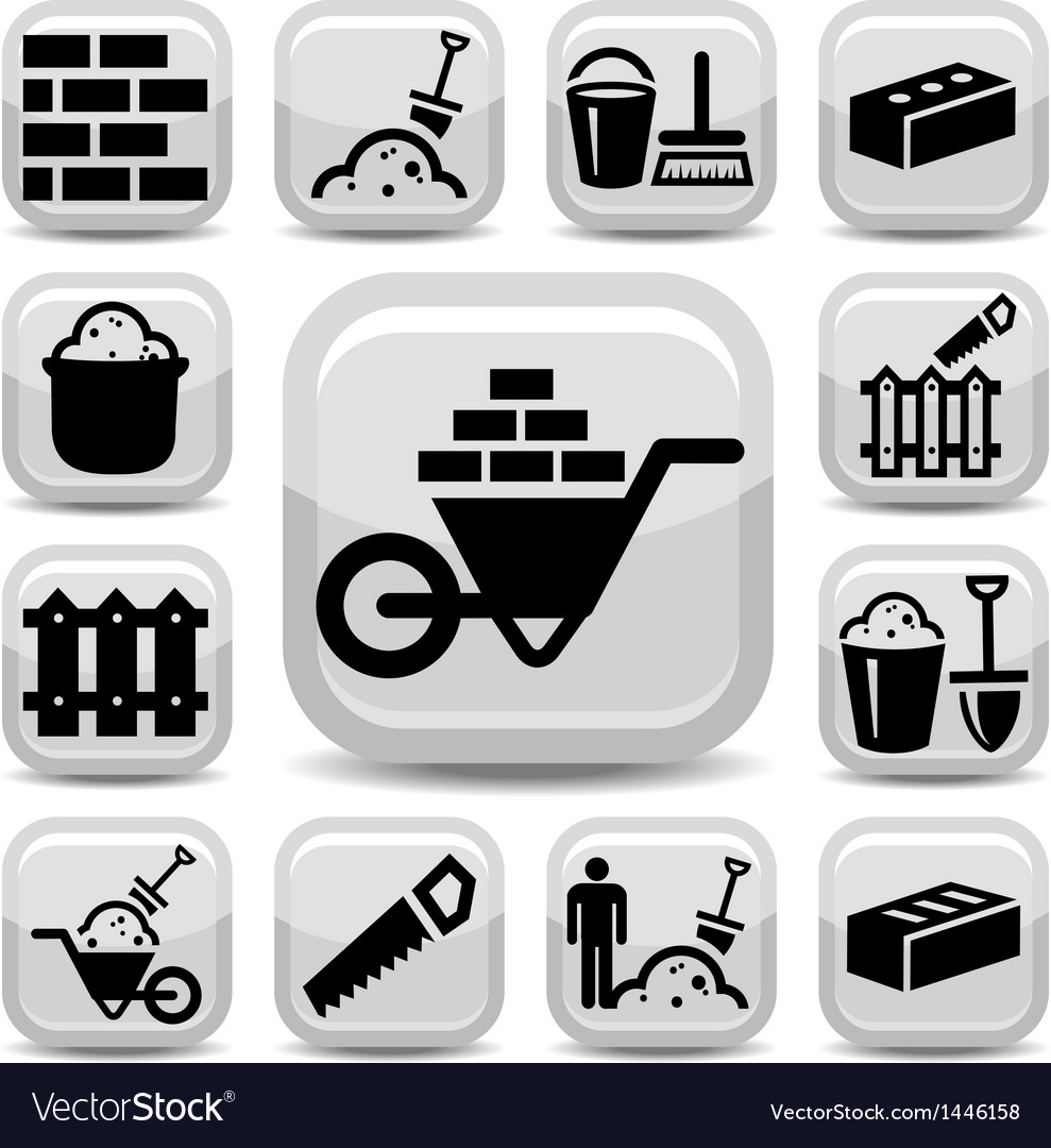 Bricklayer icons