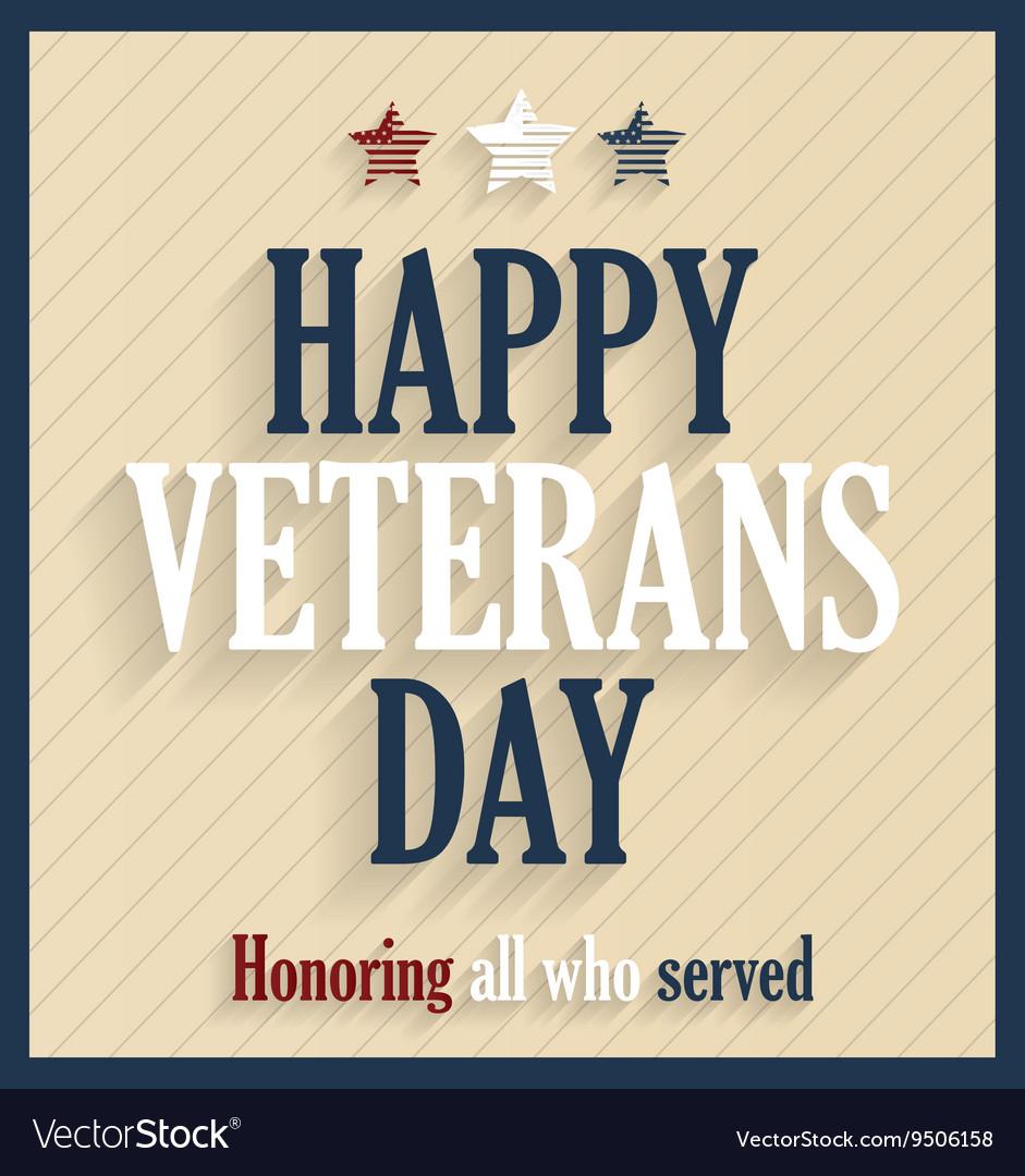 Veterans day design