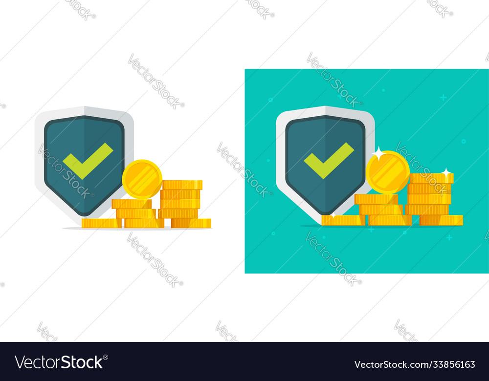 Financial insurance guarantees money gold