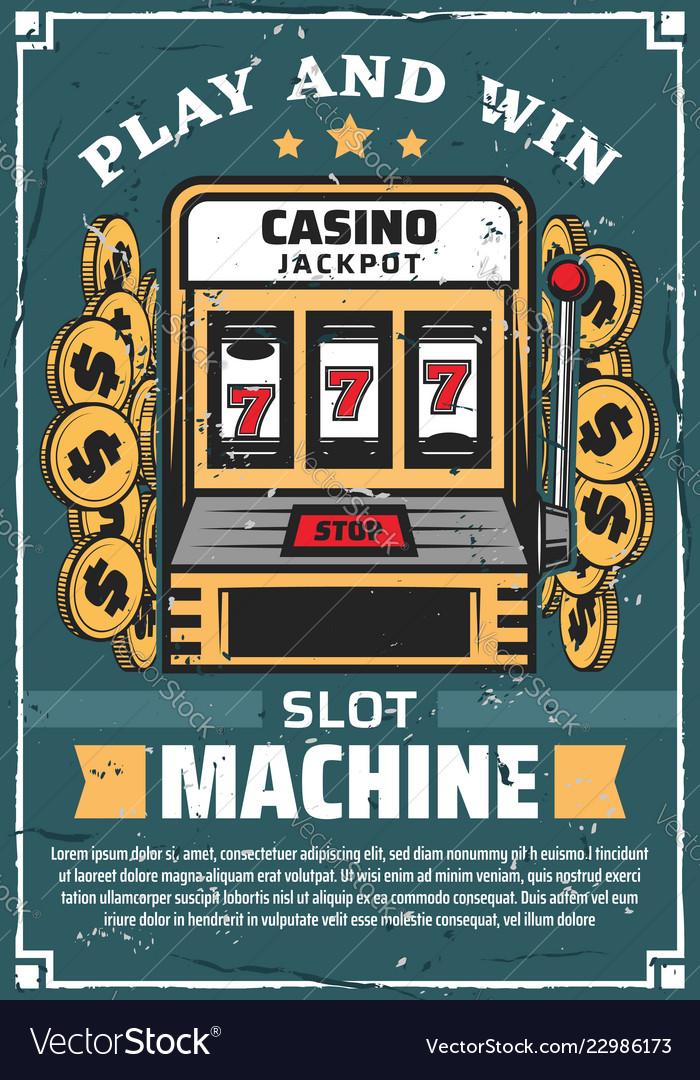 Casino gambling club slot machine
