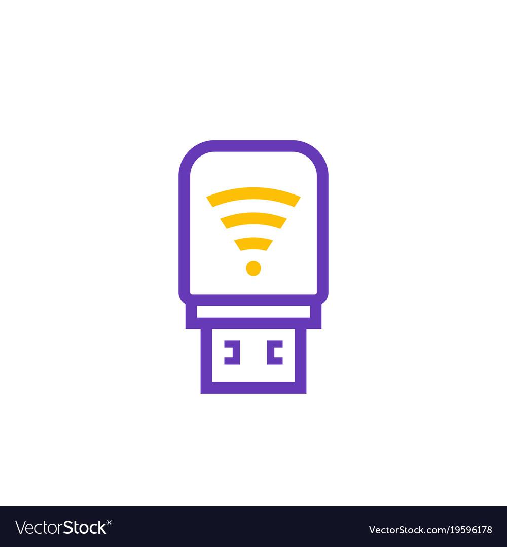 Usb 4g lte modem icon