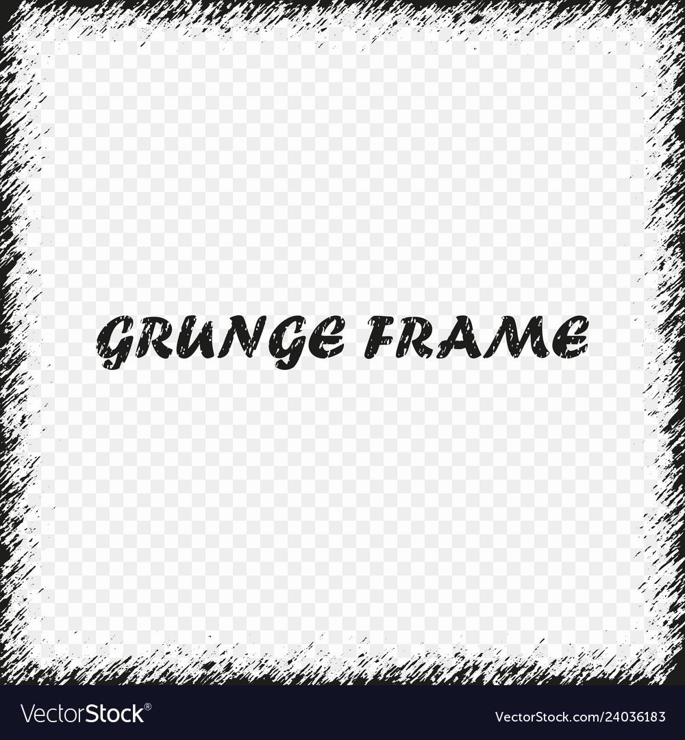 Grunge frame distress background