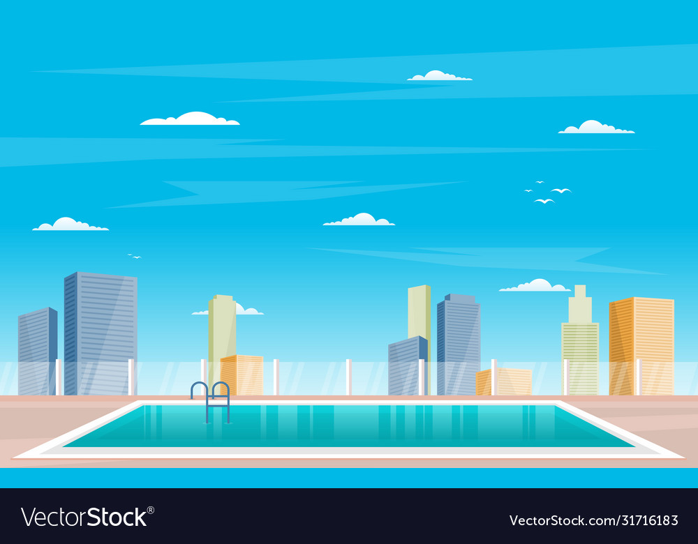 Water outdoor swimming pool hotel city relax view