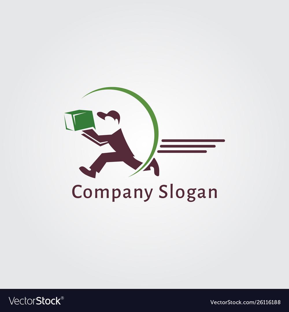 Delivery logo design