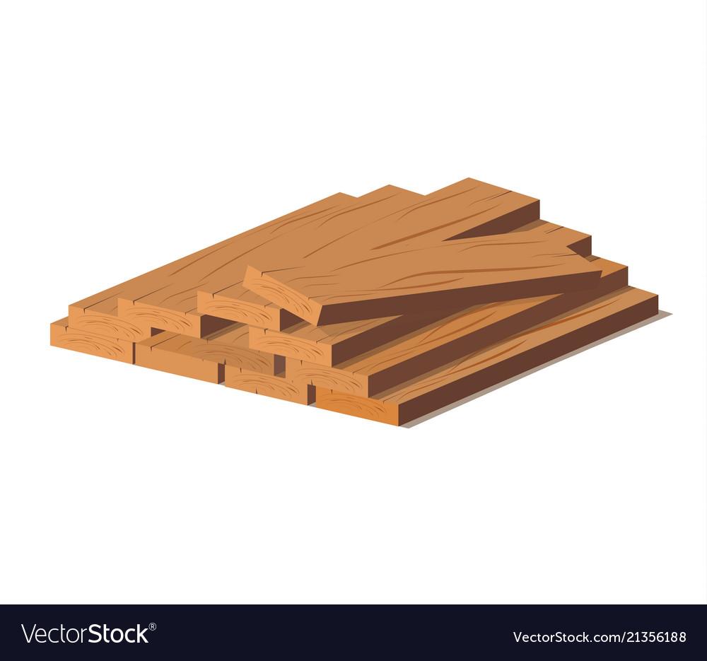 Wooden logs brown bark of felled dry wood