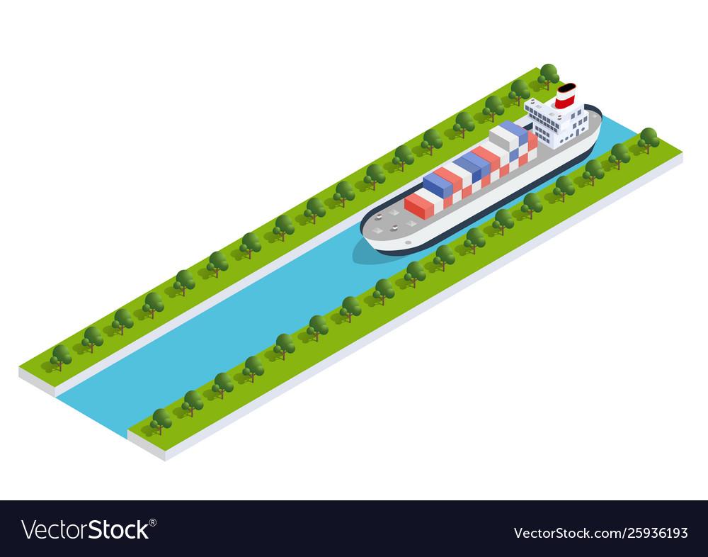 Isometric ship cargo
