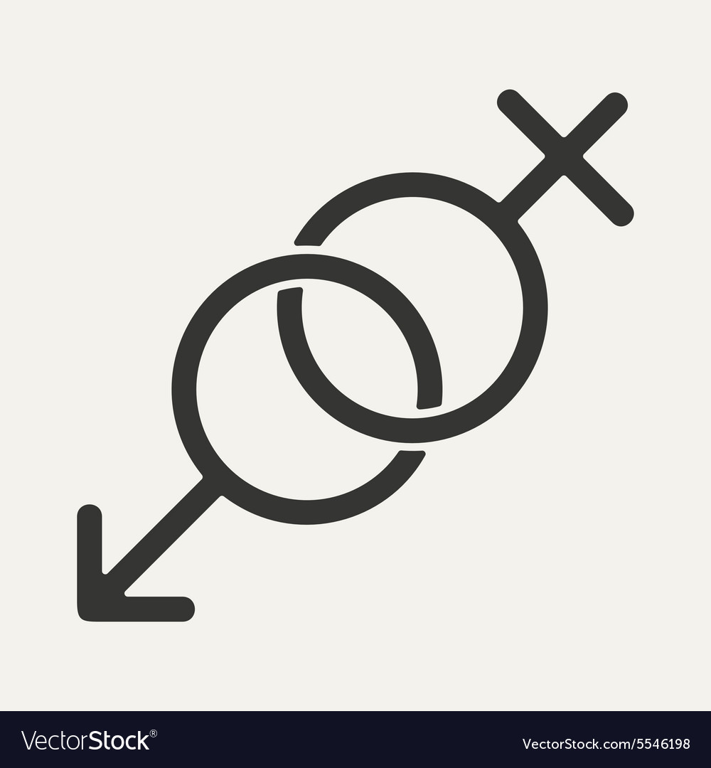 Flat in black and white mobile application sex vector image