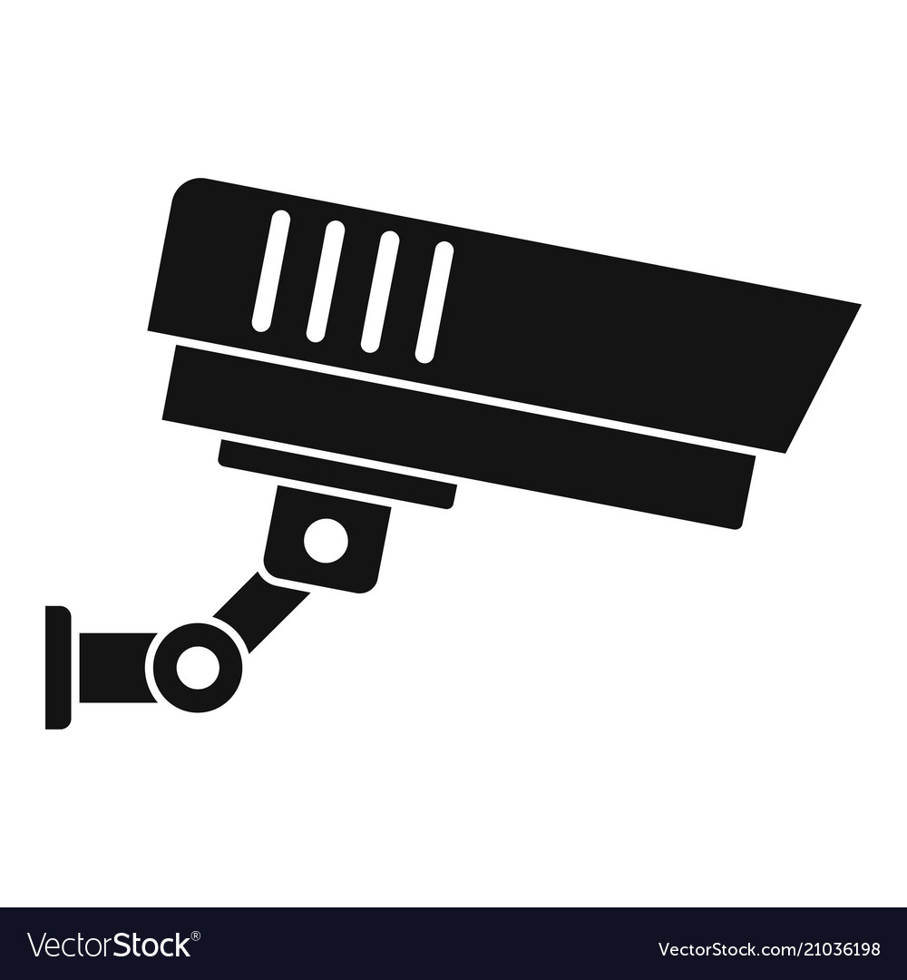 Outdoor security icon simple style
