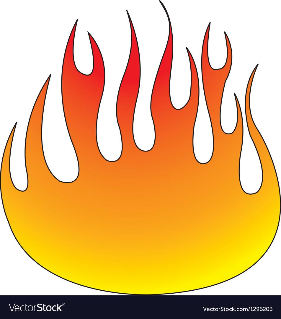 flames royalty free vector image vectorstock rh vectorstock com flames vector file flame vector free