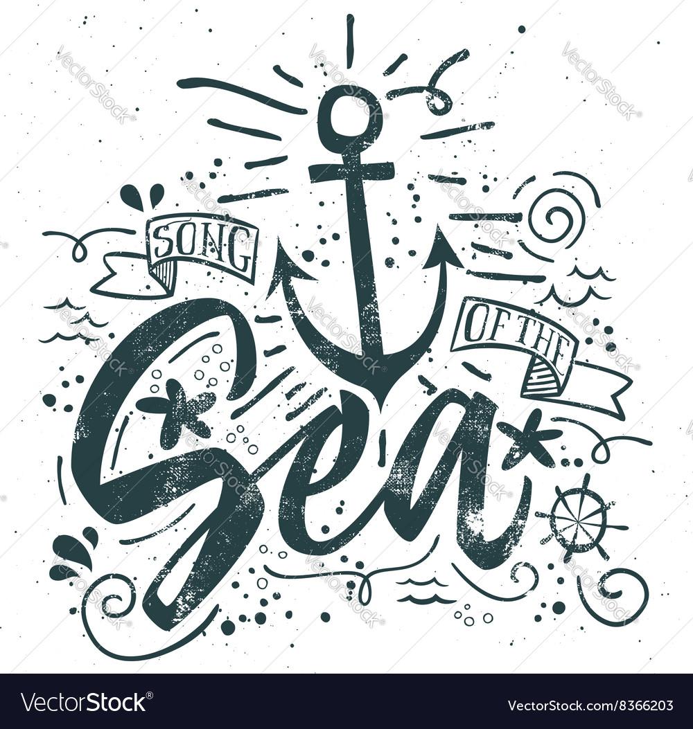Sea print T-shirts for summer