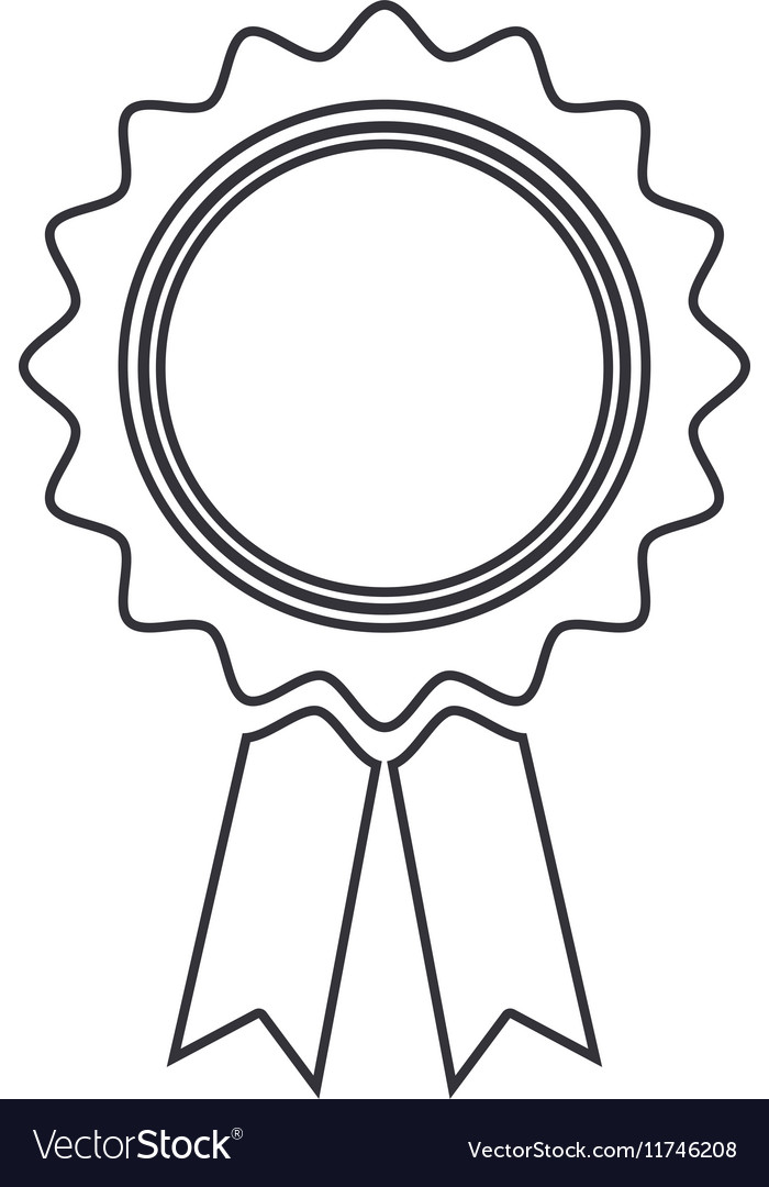 Blank silhouette stamp with labels