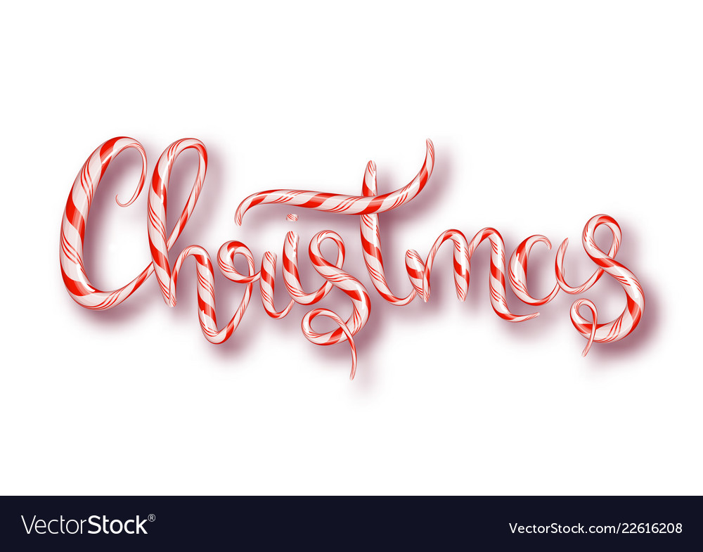 Christmas candy design template