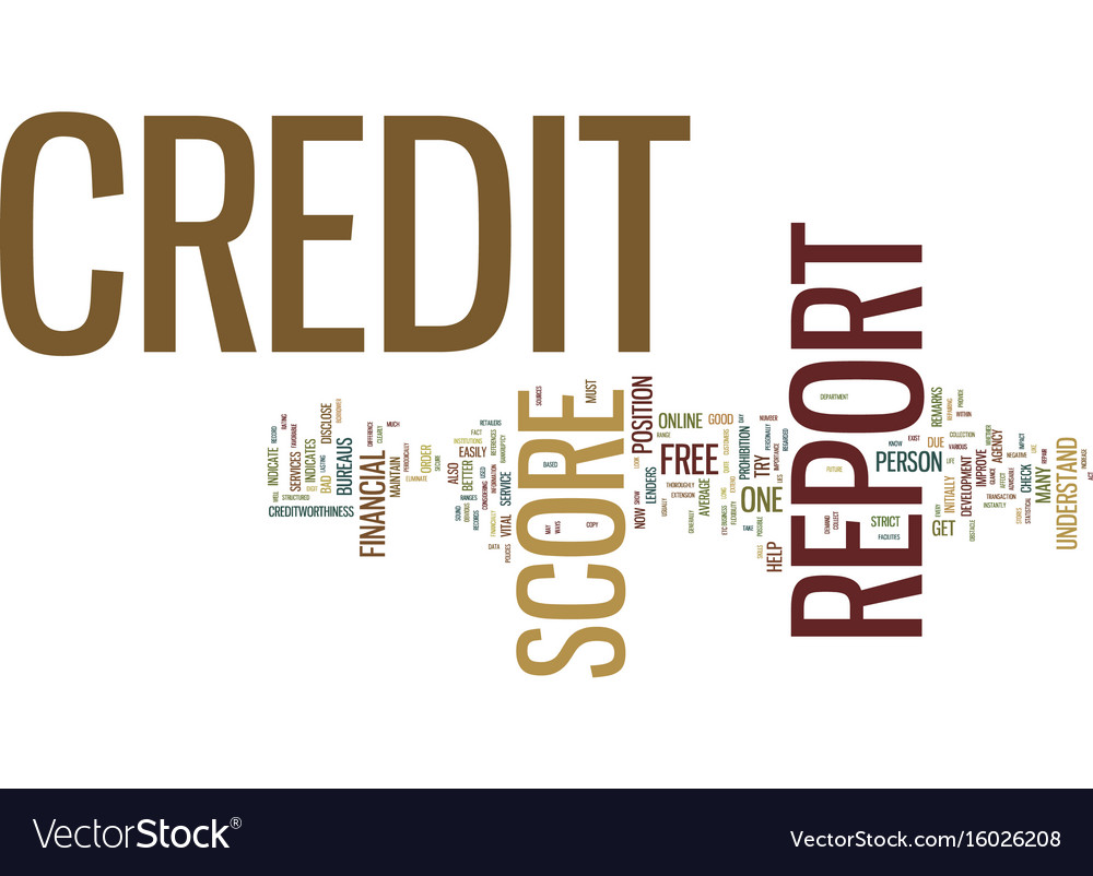 Free Credit Report Score >> Free Credit Report And Credit Score Text