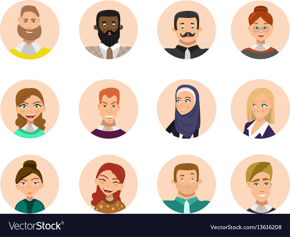 People avatars collection