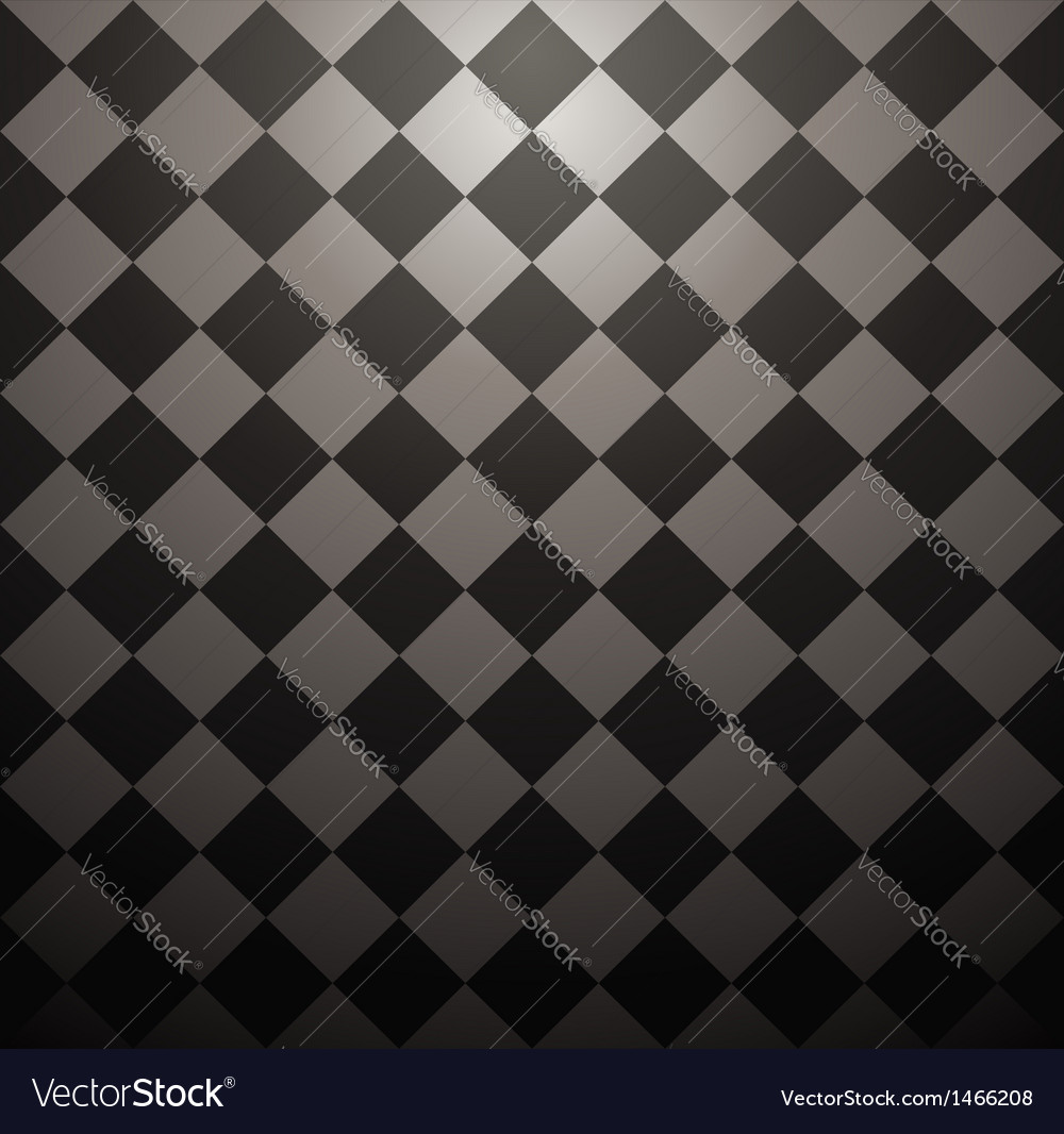 Seamless checkered texture vector image