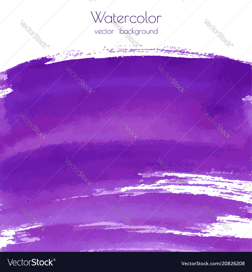 Violet purple lilac grunge marble watercolor