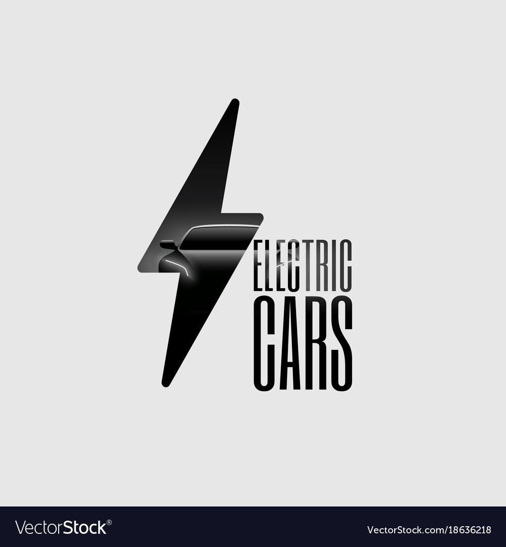 Electric car flyer banner