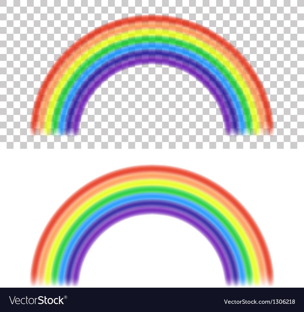 Rainbow vector image