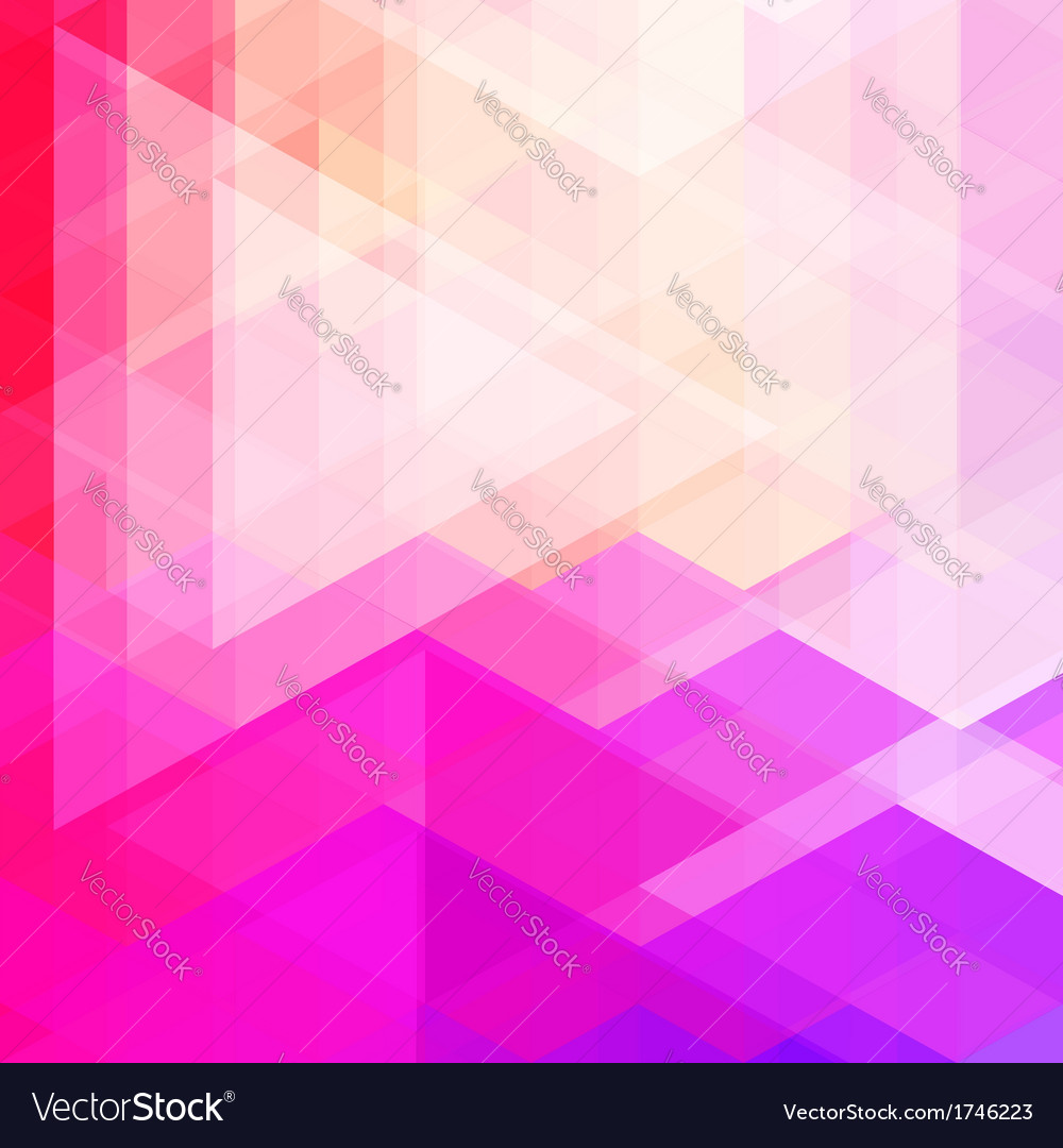 Abstract neon colorful triangle pattern background