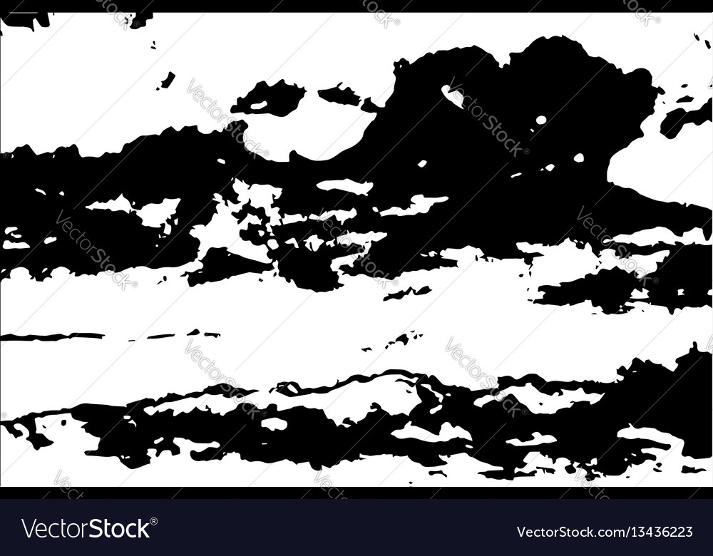Abstract pattern of grunge texture vector image