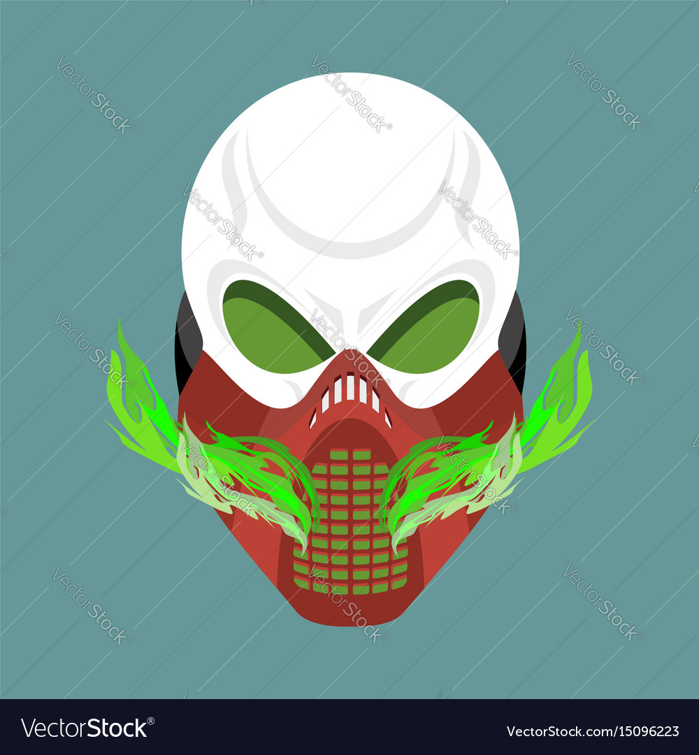 Skull protective mask hell defender terrible
