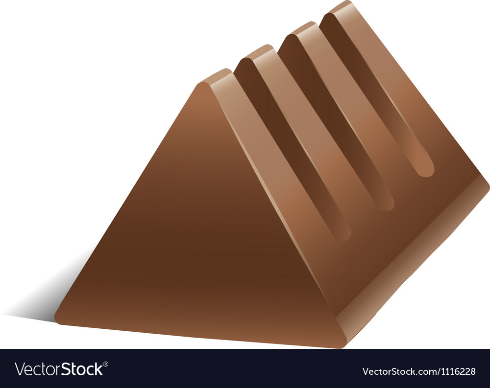 A chocolate vector image