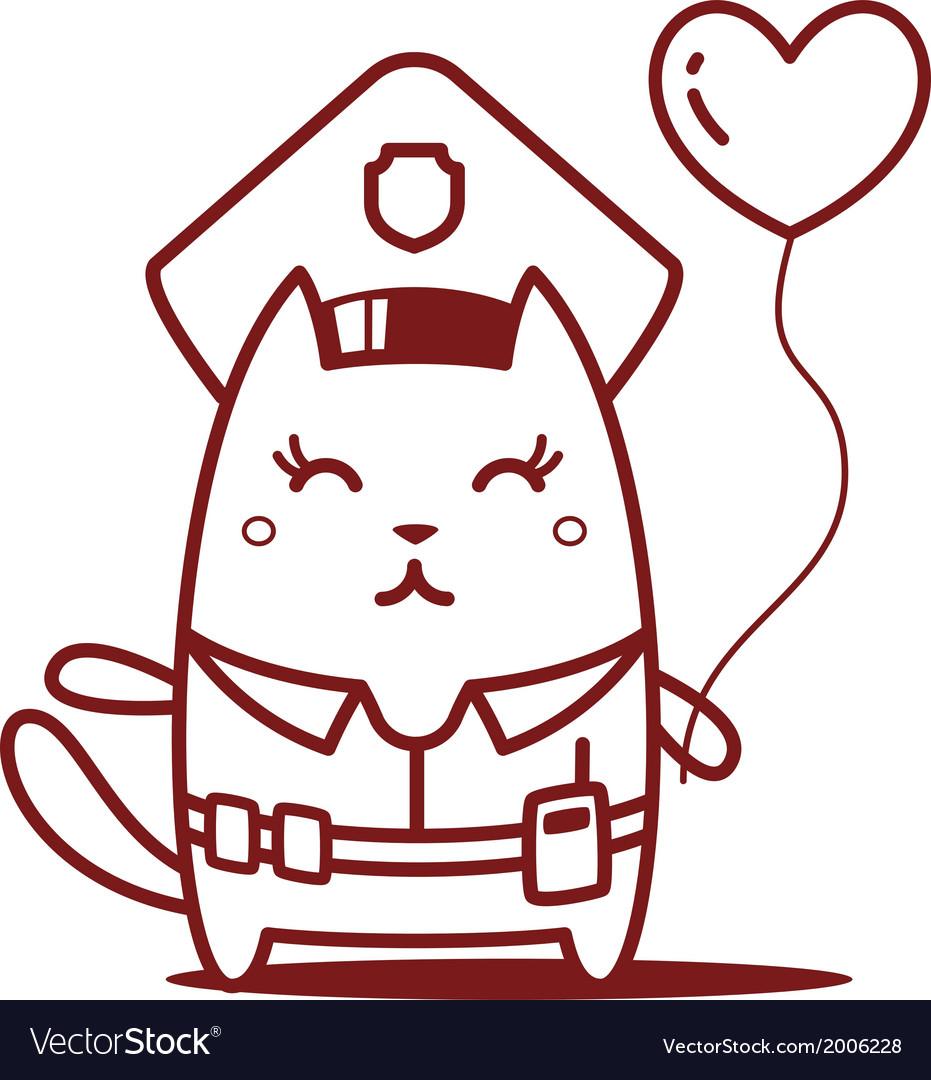 Cartoon Cat Character