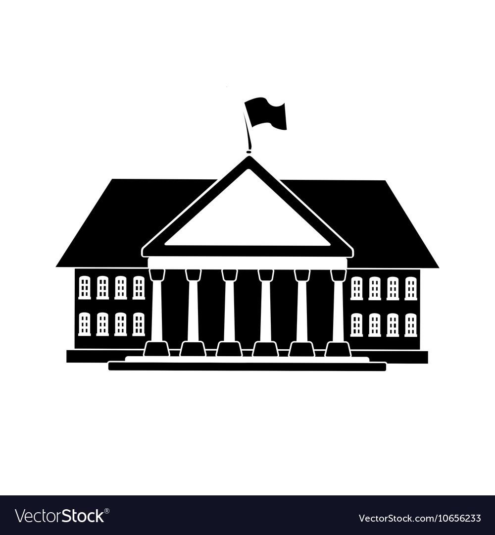 Black house shape