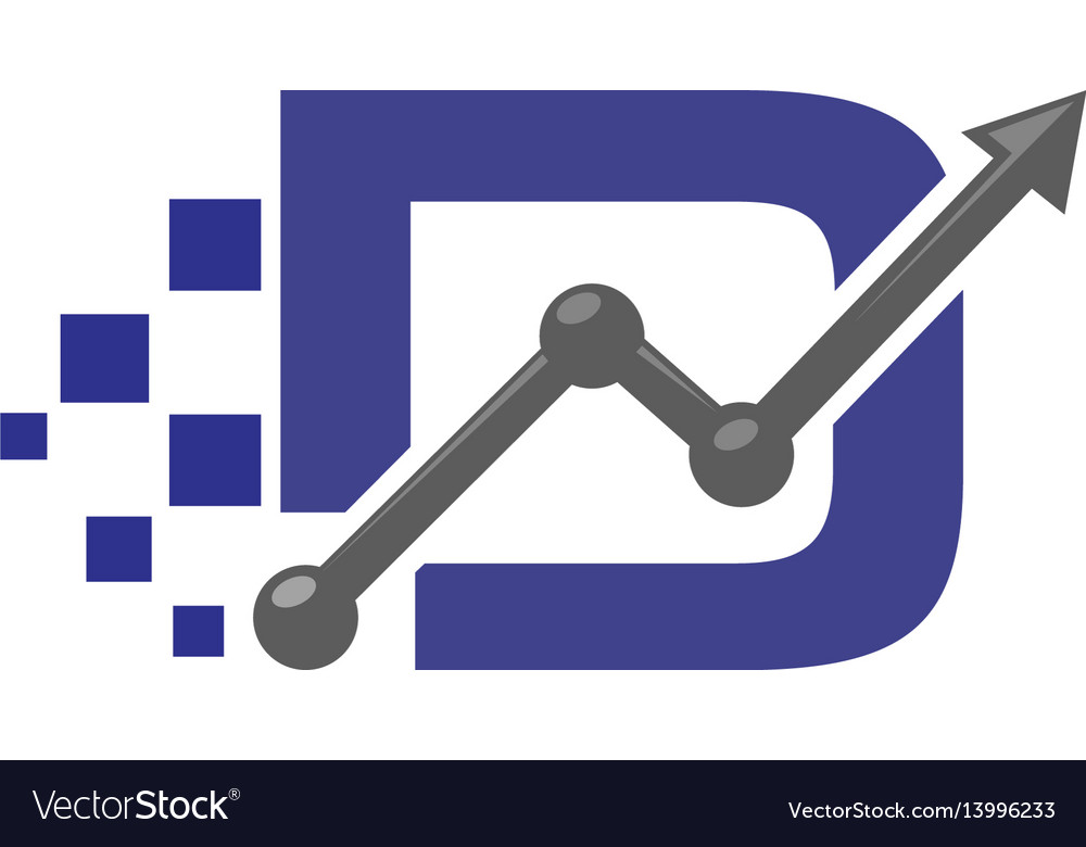 Letter d business logo
