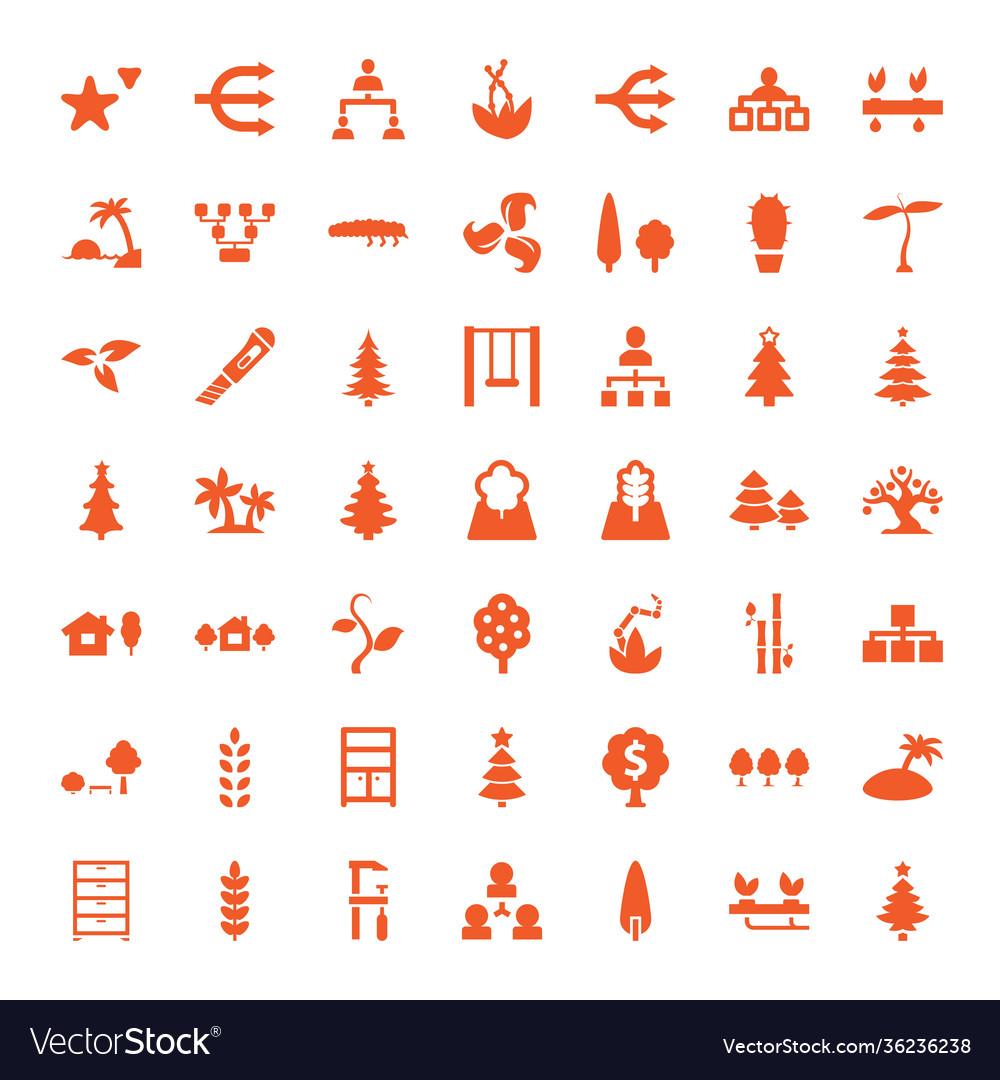 49 tree icons