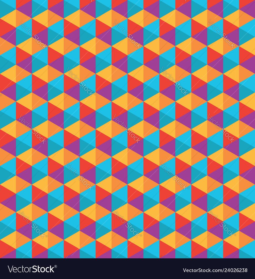 Color polygon pattern