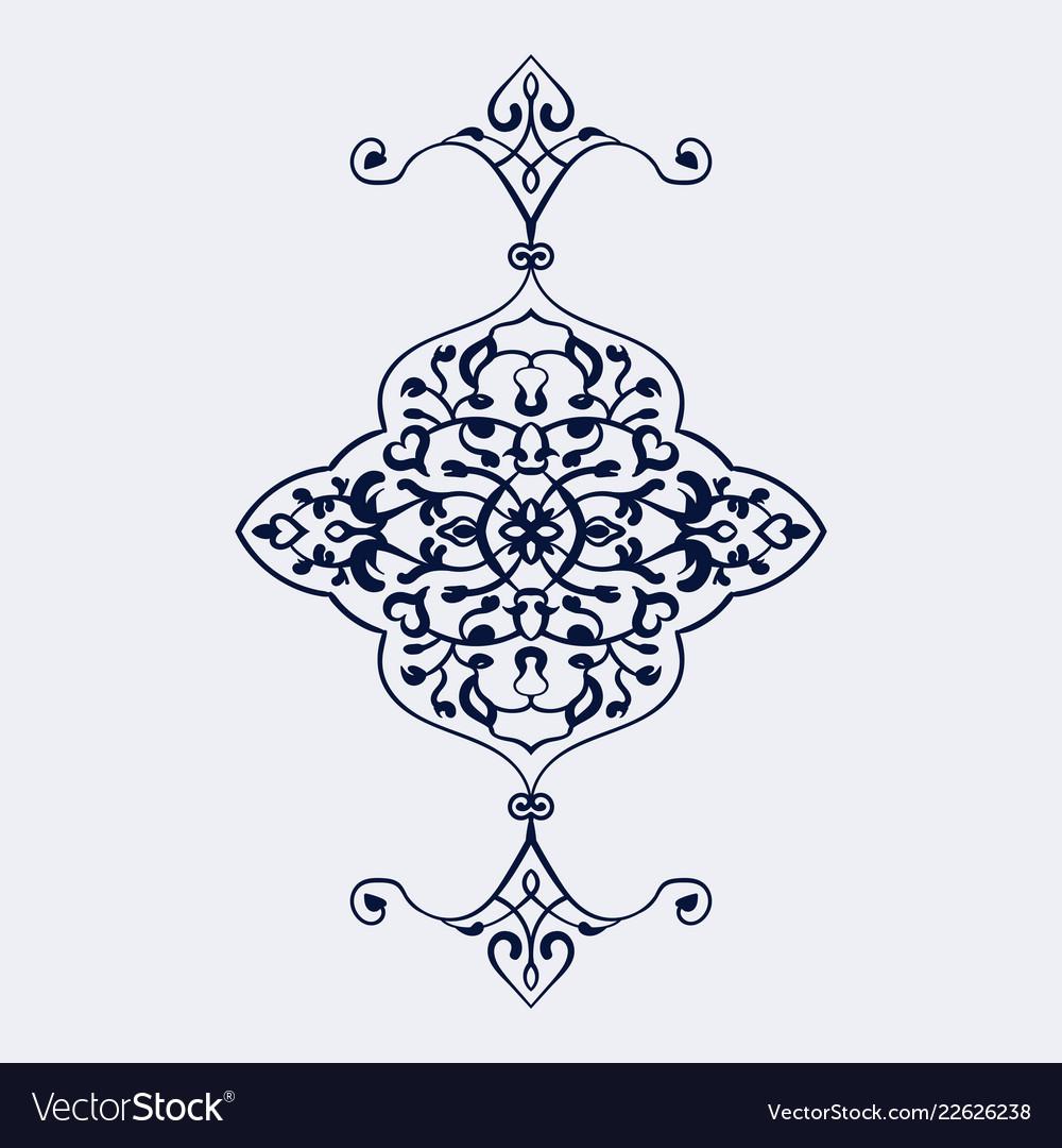 Paisley pattern design