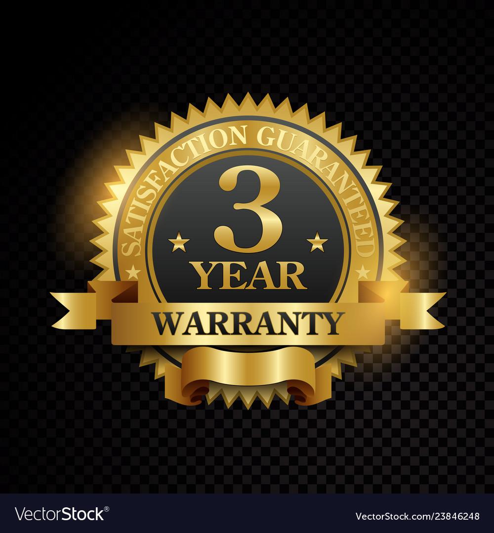 One year warranty satisfaction guaranteed