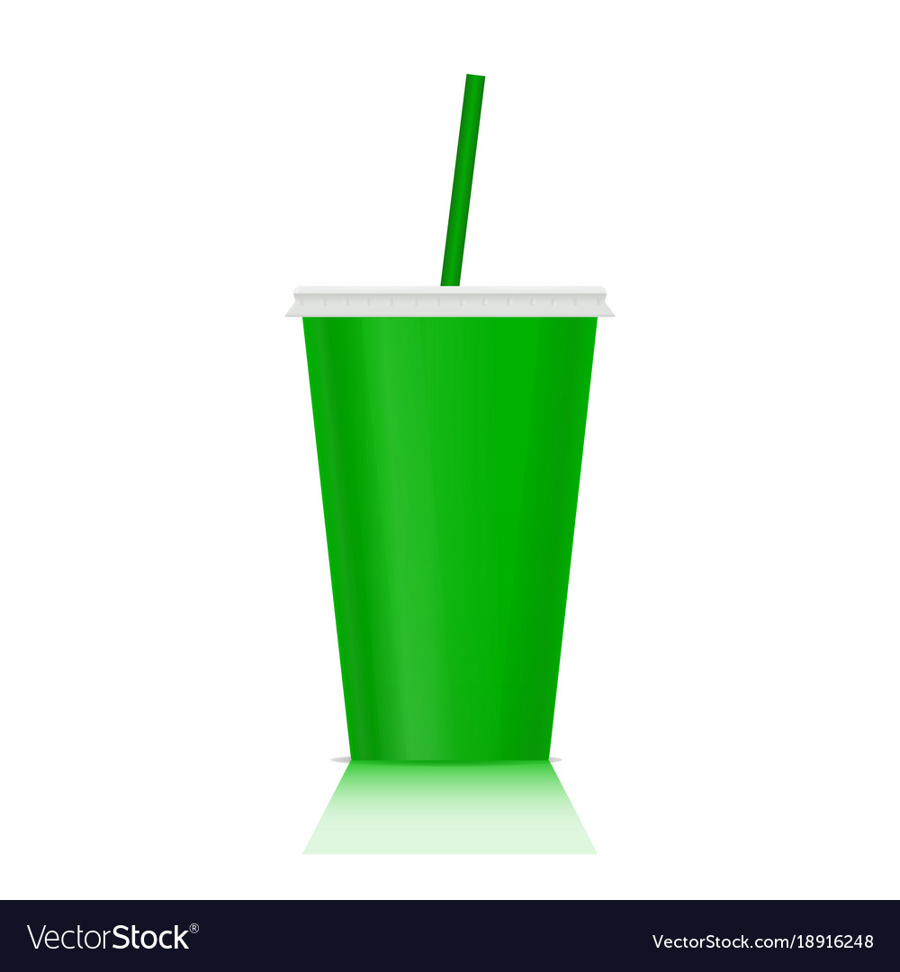 Plastic fastfood cup for beverages plastic cup
