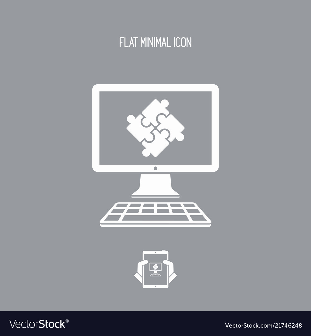 Team application flat icon
