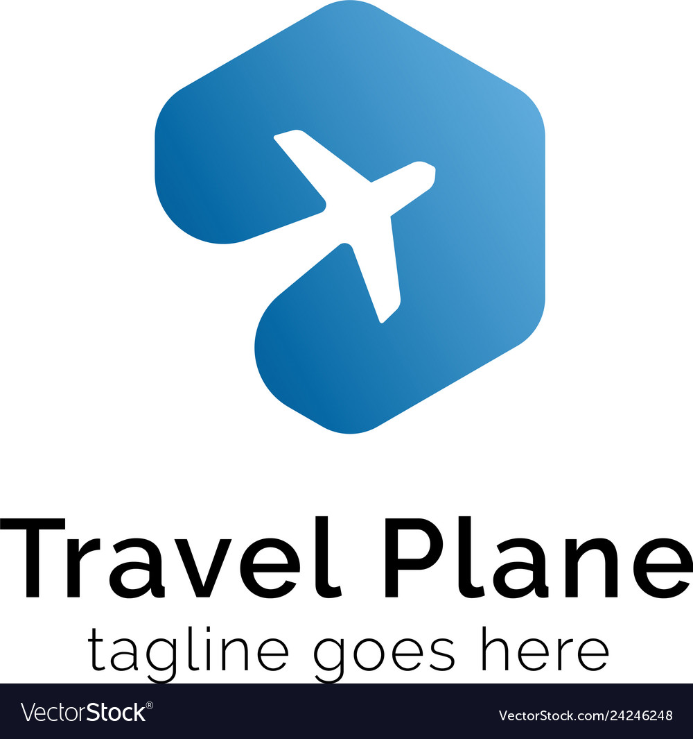 Travel plane logo design inspiration