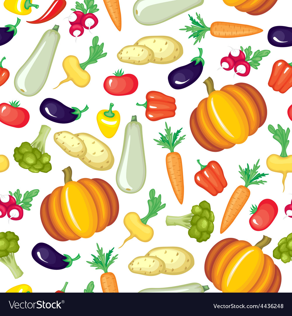 Vegetable color pattern