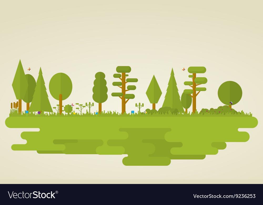 Flat nature
