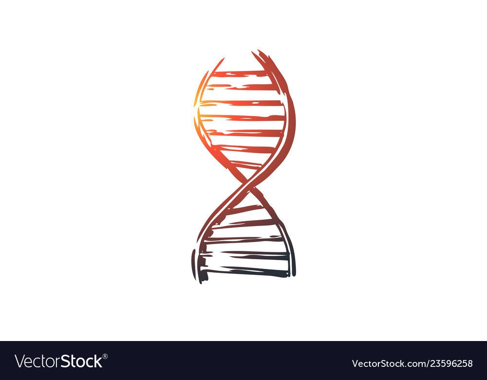 Dna medicine genetic biology science concept