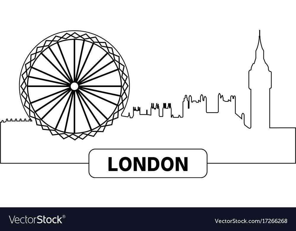 Cityscape of london