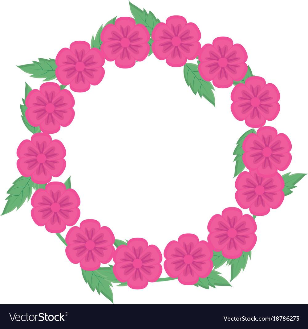 Wreath of flowers 7